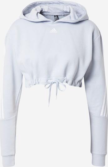 ADIDAS PERFORMANCE Sport sweatshirt i grå / vit, Produktvy