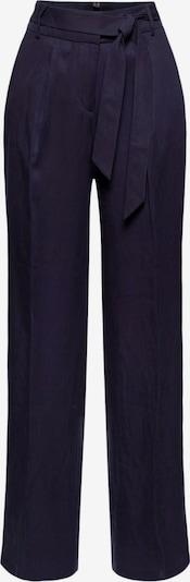Esprit Collection Pantalon à pince en bleu nuit, Vue avec produit