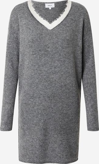 ONLY Stickad klänning 'Liana' i grå, Produktvy