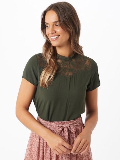ONLY Bluse in grün, Modelansicht
