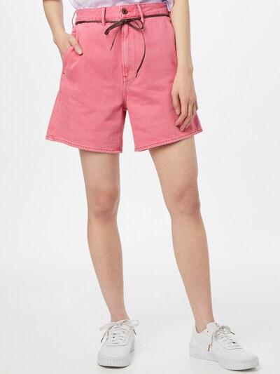 G-Star RAW Broek in de kleur Oudroze, Modelweergave