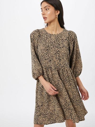 PIECES Kleid 'PCGILBERTA' in braun / schwarz, Modelansicht