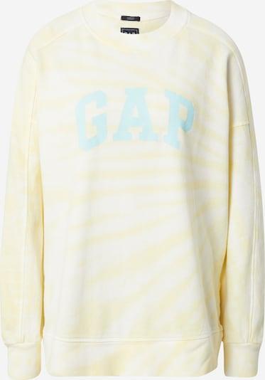 GAP Sweatshirt in azur / hellgelb / weiß, Produktansicht