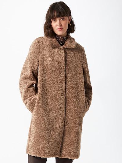 CINQUE Přechodný kabát 'Fleecy' - hnědá, Model/ka