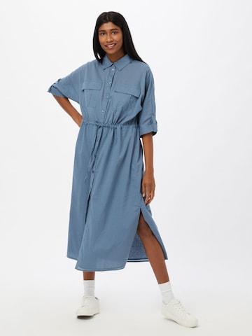 Rochie tip bluză 'Todis' de la minimum pe albastru
