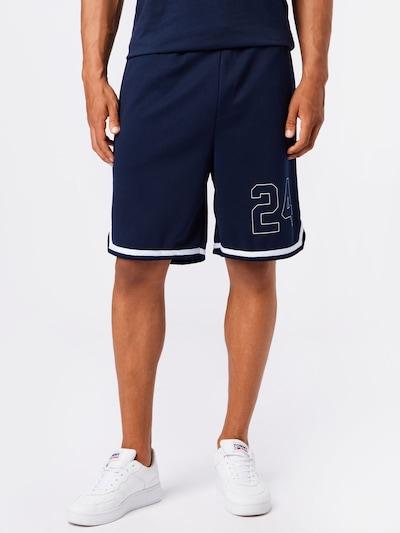 JACK & JONES Nohavice - námornícka modrá / svetlomodrá / biela, Model/-ka