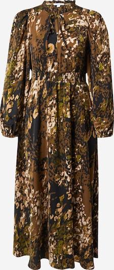 Claire Robe-chemise 'Dotta' en bleu nuit / olive / roseau / blanc, Vue avec produit