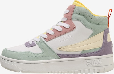 FILA Sneaker in hellgelb / mint / lila / altrosa / weiß, Produktansicht