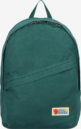Fjällräven Rucksack 'Vardag' in blau / gelb / dunkelgrün / feuerrot, Produktansicht