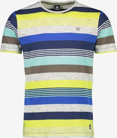 LERROS Shirts in türkis / dunkelblau / gelb / graumeliert, Produktansicht
