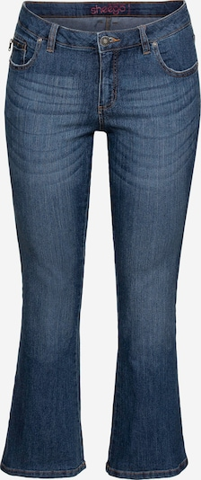 Jeans SHEEGO di colore blu scuro: Vista frontale