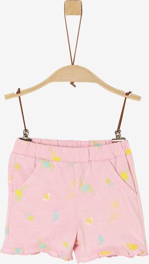 s.Oliver Shorts in blau / gelb / pink / pastellpink, Produktansicht