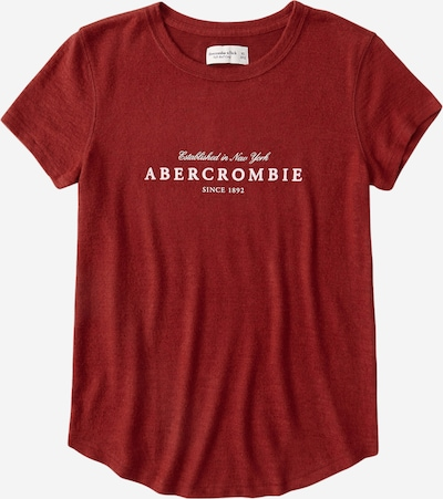 Abercrombie & Fitch Shirt in de kleur Rood / Wit, Productweergave