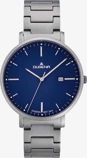 DUGENA Uhr in blau / silber, Produktansicht