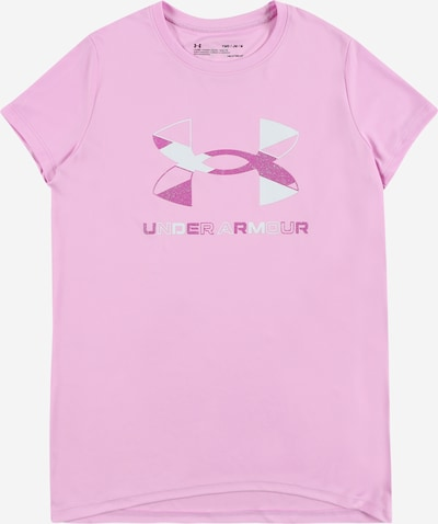 UNDER ARMOUR Functional shirt in light pink / white, Item view