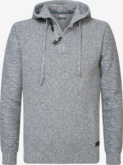 Petrol Industries Sweater in Grey / mottled grey, Item view