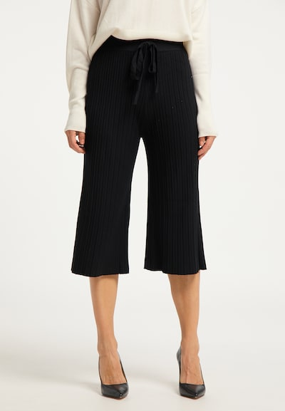 usha BLACK LABEL Hose in schwarz, Modelansicht