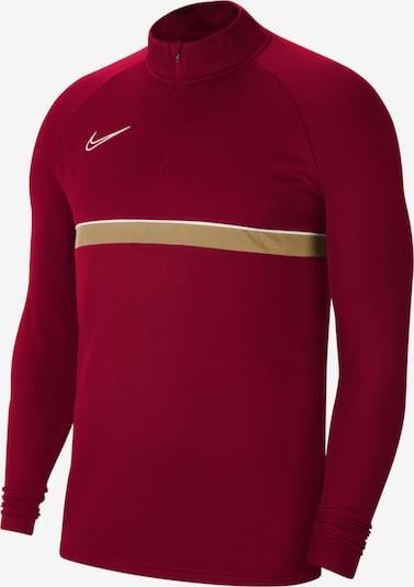 NIKE Sweatshirt in gelb / rot / weiß, Produktansicht