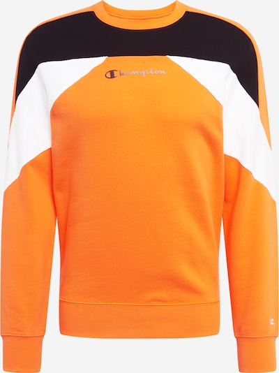 Champion Authentic Athletic Apparel Sweatshirt in orange / schwarz / weiß, Produktansicht