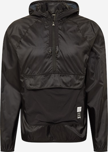 UNDER ARMOUR Chaqueta deportiva ' Run Anywhere ' en negro, Vista del producto