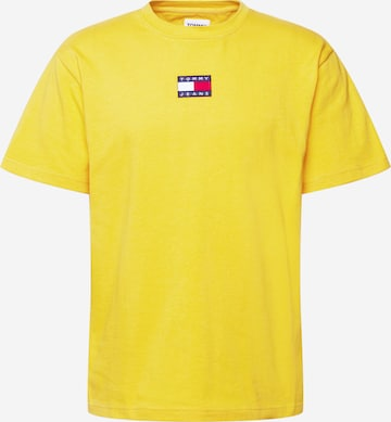 T-Shirt Tommy Jeans en jaune