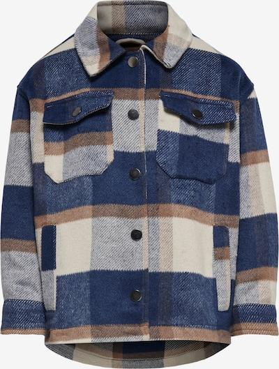 KIDS ONLY Jacke in creme / dunkelblau / hellbraun / weiß, Produktansicht