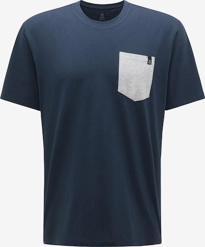 Haglöfs Shirt 'Mirth' in dunkelblau / hellgrau, Produktansicht