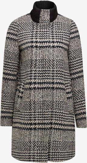 ESPRIT Mantel in hellbeige / grau / schwarz, Produktansicht