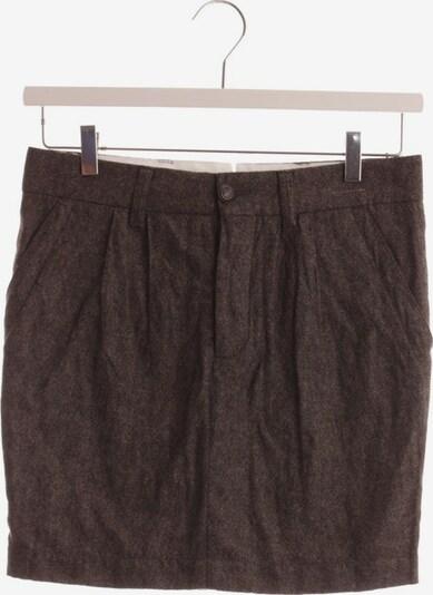 Monocrom Skirt in XS in Brown / Black, Item view