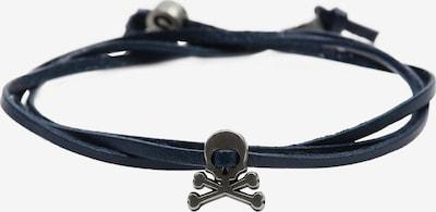 Scalpers Náramok - námornícka modrá / strieborná, Produkt