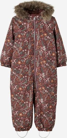 NAME IT Functioneel pak in de kleur Bruin / Gemengde kleuren, Productweergave