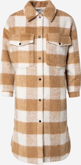 Pimkie Přechodný kabát 'VIPERE' - světle béžová / bílá, Produkt