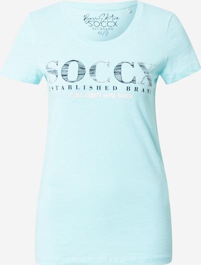 Soccx Shirt in hellblau, Produktansicht