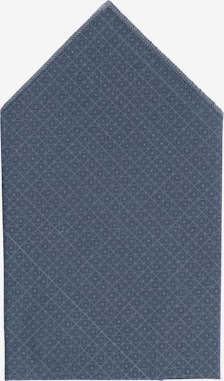 Hans Hermann Einstecktuch in hellblau / dunkelgrau, Produktansicht