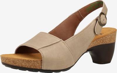 THINK! Sandale in hellbeige, Produktansicht