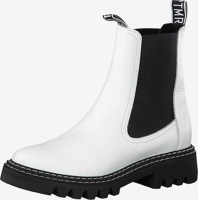 TAMARIS Chelsea Boots en blanc, Vue avec produit