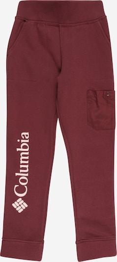 COLUMBIA Nohavice - svetloružová / purpurová, Produkt