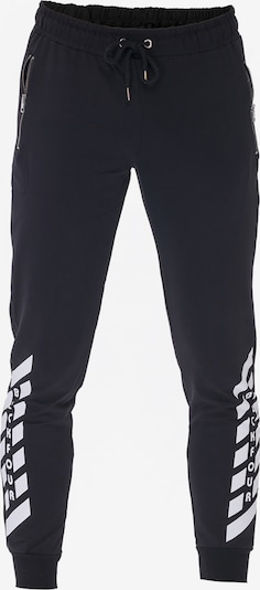 Tom Barron Sweathose MAN TRACKPANTS in schwarz, Produktansicht