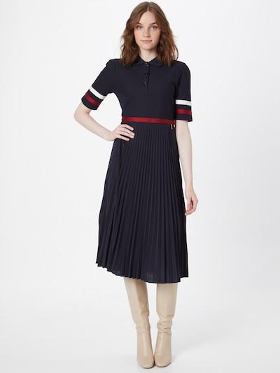 BOGNER Košilové šaty 'PHILIA' - námořnická modř / červená / bílá, Model/ka
