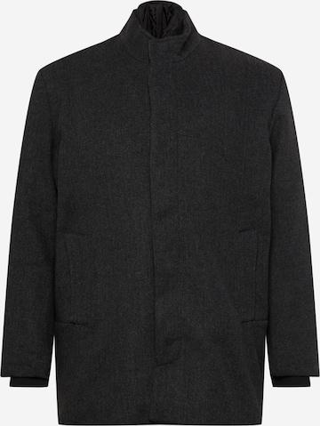 Jack & Jones Plus Between-Season Jacket 'DUNHAM' in Grey