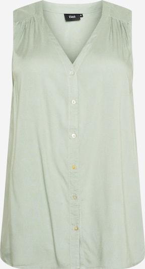 Zizzi Bluzka 'LIA' w kolorze pastelowy zielonym, Podgląd produktu