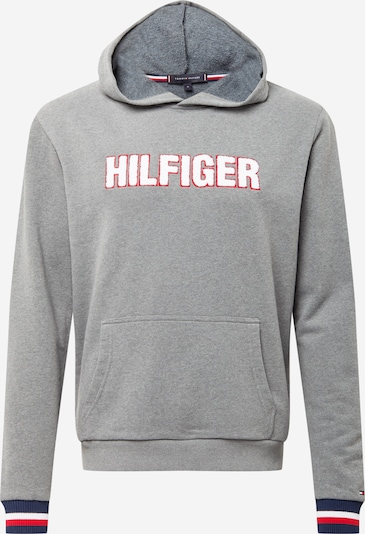 Tommy Hilfiger Underwear Collegepaita värissä laivastonsininen / meleerattu harmaa / punainen / valkoinen, Tuotenäkymä