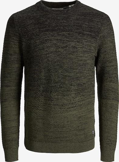 JACK & JONES Pullover 'Thomas' in dunkelgrün, Produktansicht