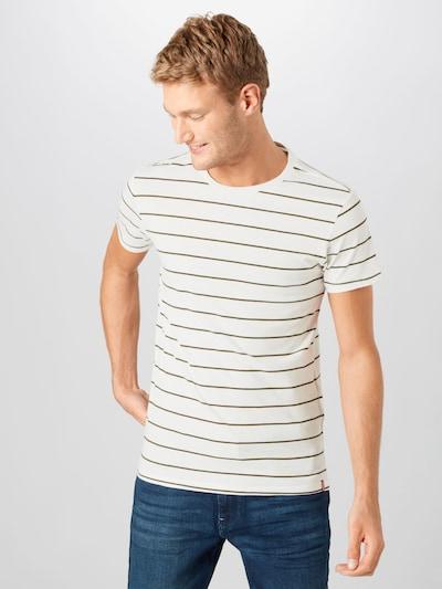 LEVI'S Majica u siva / kaki / bijela: Prednji pogled
