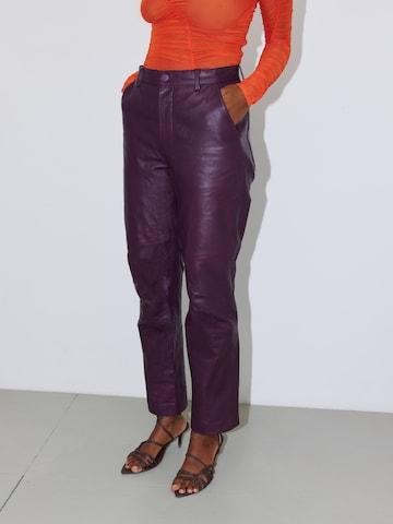 LeGer by Lena Gercke Pants 'Joy' in Purple