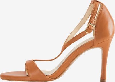 DreiMaster Klassik Sandale in braun, Produktansicht