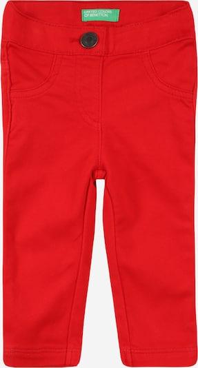 Pantaloni UNITED COLORS OF BENETTON pe roșu, Vizualizare produs