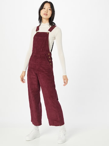 Afends Overalls 'Lucie' in Red
