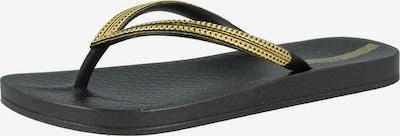 Ipanema Sandalen in de kleur Goud / Zwart, Productweergave