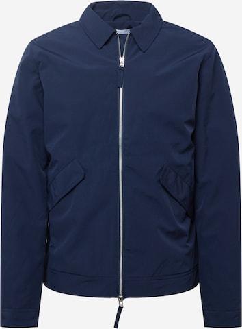 Casual Friday Kevad-sügisjope 'Oakford 0024 hybrid jacket', värv sinine